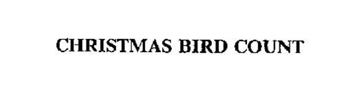 CHRISTMAS BIRD COUNT