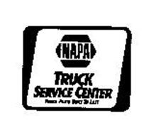 NAPA TRUCK SERVICE CENTER TRUCK PARTS BUILT TO LAST
