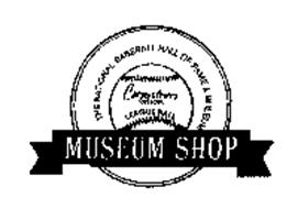THE NATIONAL BASEBALL HALL OF FAME & MUSEUM COOPERSTOWN OFFICIAL LEAGUE BALL MUSEUM SHOP