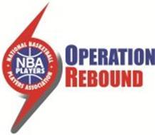 NBA PLAYERS · NATIONAL BASKETBALL · PLAYERS ASSOCIATION OPERATION REBOUND