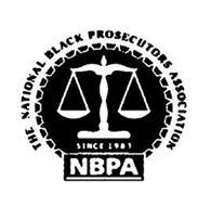 THE NATIONAL BLACK PROSECUTORS ASSOCIATION NBPA SINCE 1983