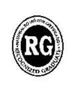 RG · NATIONAL BOARD FOR CERTIFICATION · RECOGNIZED GRADUATE