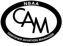 NBAA CAM CERTIFIED AVIATION MANAGER