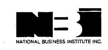 NBI NATIONAL BUSINESS INSTITUTE INC.