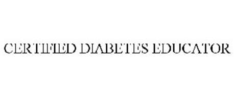 CERTIFIED DIABETES EDUCATOR