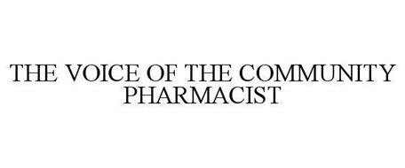 THE VOICE OF THE COMMUNITY PHARMACIST