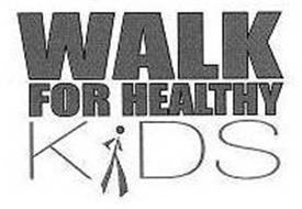 WALK FOR HEALTHY KIDS