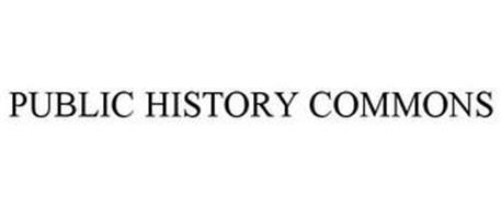PUBLIC HISTORY COMMONS