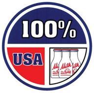 100% USA MILK