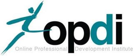 OPDI ONLINE PROFESSIONAL DEVELOPMENT INSTITUTE