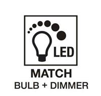 LED MATCH BULB + DIMMER