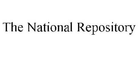 THE NATIONAL REPOSITORY