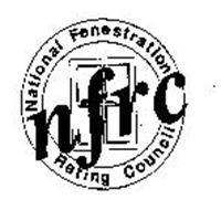 NFRC NATIONAL FENESTRATION RATING COUNCIL