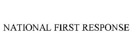 NATIONAL FIRST RESPONSE