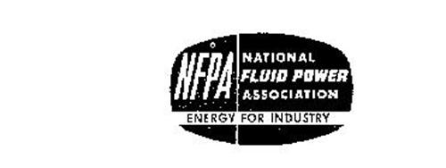 NFPA NATIONAL FLUID POWER ASSOCIATION ENERGY FOR INDUSTRY