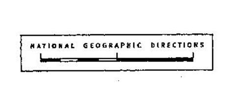 NATIONAL GEOGRAPHIC DIRECTIONS