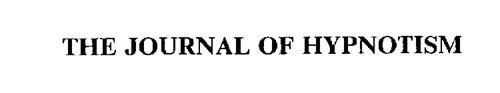 THE JOURNAL OF HYPNOTISM