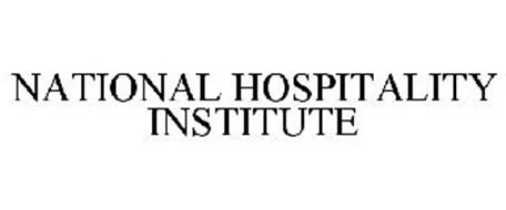 NATIONAL HOSPITALITY INSTITUTE