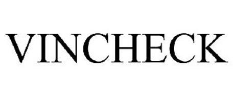 VINCHECK Trademark of National Insurance Crime Bureau Serial Number: 85030492 :: Trademarkia