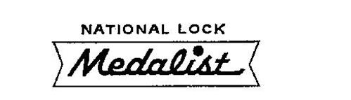 NATIONAL LOCK MEDALIST