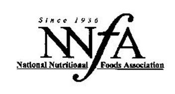 NNFA NATIONAL NUTRITIONAL FOODS ASSOCIATION SINCE 1936