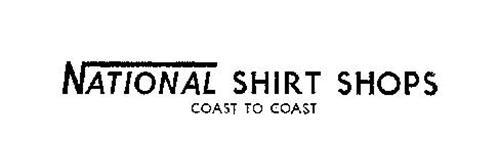 NATIONAL SHIRT SHOPS COAST TO COAST