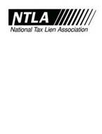 NTLA NATIONAL TAX LIEN ASSOCIATION