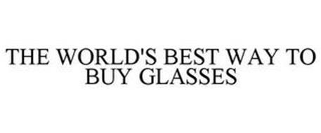 THE WORLD'S BEST WAY TO BUY GLASSES