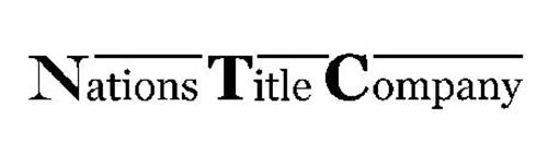 NATIONS TITLE COMPANY
