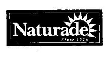 NATURADE SINCE 1926