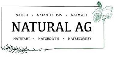 NATURAL AG NATBIO · NATANTIBIOSIS · NATMYCO  · NATSTART · NATGROWTH  · NATRECOVERY