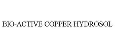 BIO-ACTIVE COPPER HYDROSOL