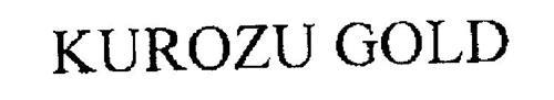 KUROZU GOLD