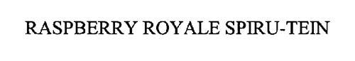 RASPBERRY ROYALE SPIRU-TEIN