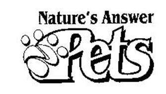 NATURE'S ANSWER PETS