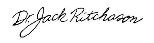 DR. JACK RITCHASON