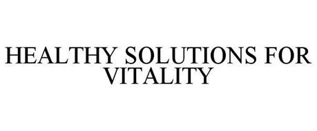 HEALTHY SOLUTIONS FOR VITALITY