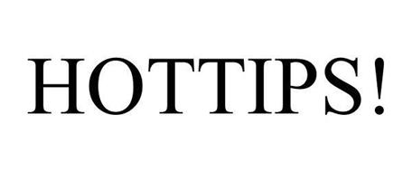 Hottips Trademark Of Navajo Manufacturing Company Serial