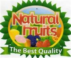NATURAL FRUITS THE BEST QUALITY