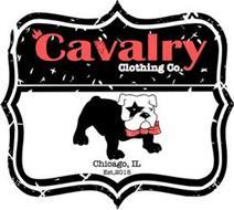 CAVALRY CLOTHING CO. CHICAGO, IL EST, 2015