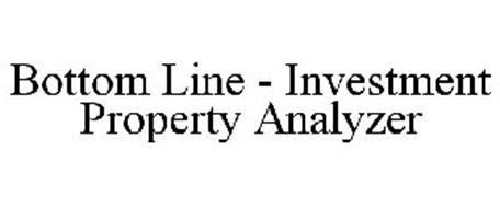 BOTTOM LINE - INVESTMENT PROPERTY ANALYZER