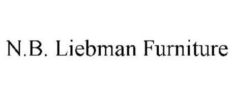 NB LIEBMAN FURNITURE Trademark of NB Liebman Co Inc
