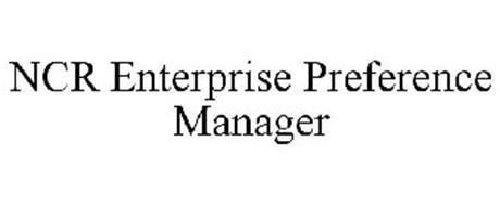 NCR ENTERPRISE PREFERENCE MANAGER
