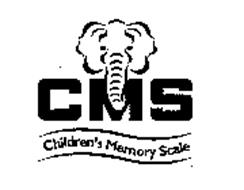 CMS CHILDREN'S MEMORY SCALE