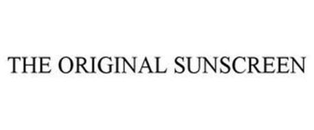 THE ORIGINAL SUNSCREEN