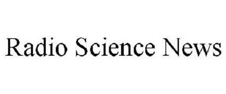RADIO SCIENCE NEWS