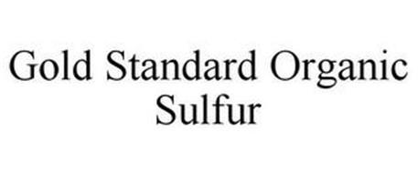 GOLD STANDARD ORGANIC SULFUR