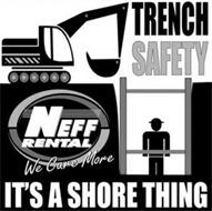 IT'S A SHORE THING NEFF RENTAL WE CARE MORE TRENCH SAFETY