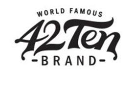 42 TEN WORLD FAMOUS BRAND