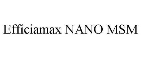 EFFICIAMAX NANO MSM